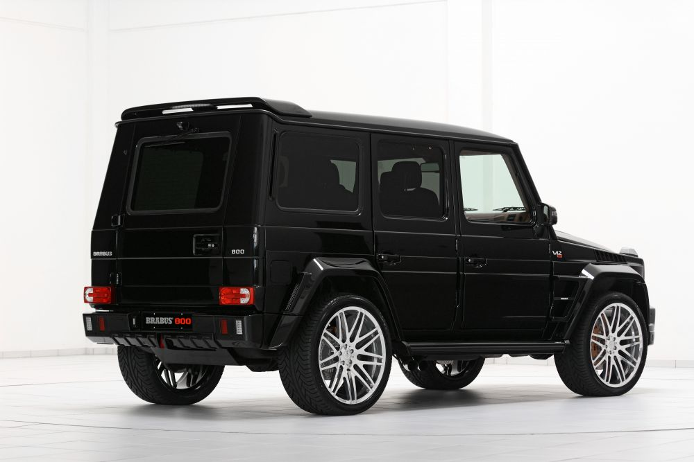 Brabus roof spoiler mercedes benz g class w463 scuderia for Mercedes benz g class parts
