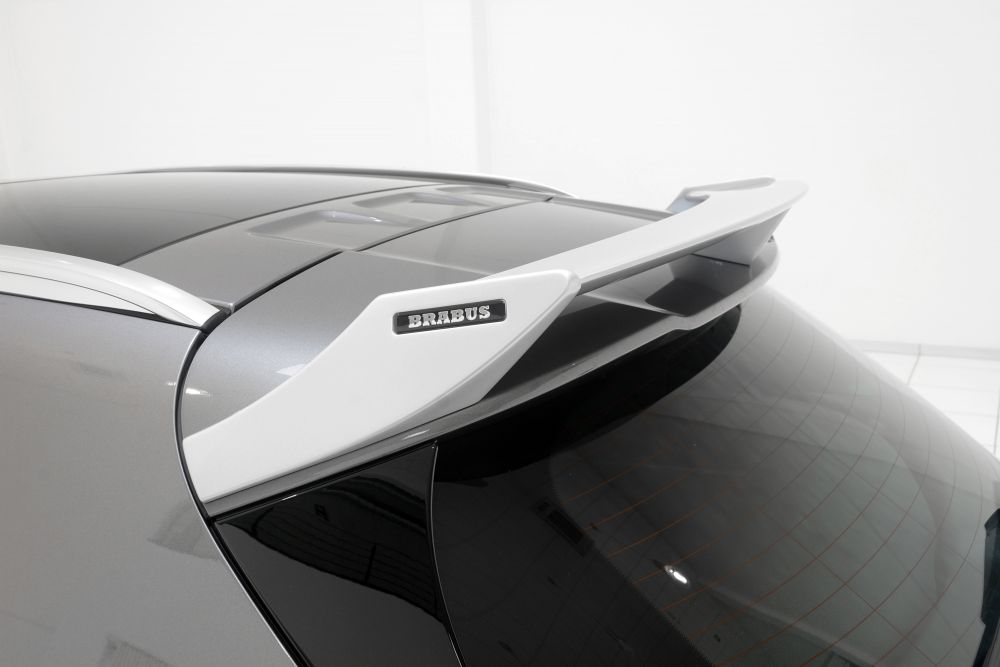Brabus rear spoiler mercedes benz gla class x156 for Mercedes benz aftermarket performance parts