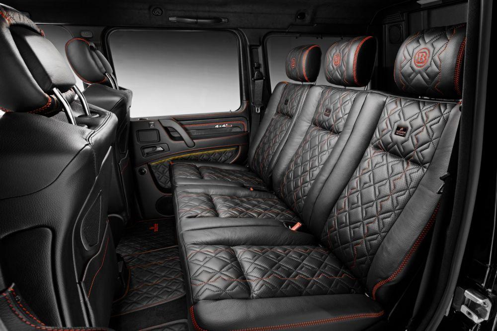 Brabus leather alcantara interior conversion mercedes for Mercedes benz interior parts