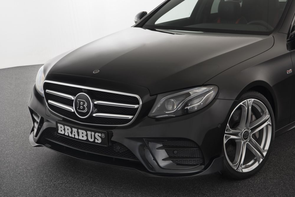 Brabus front spoiler mercedes benz e class w213 amg for Mercedes benz aftermarket accessories