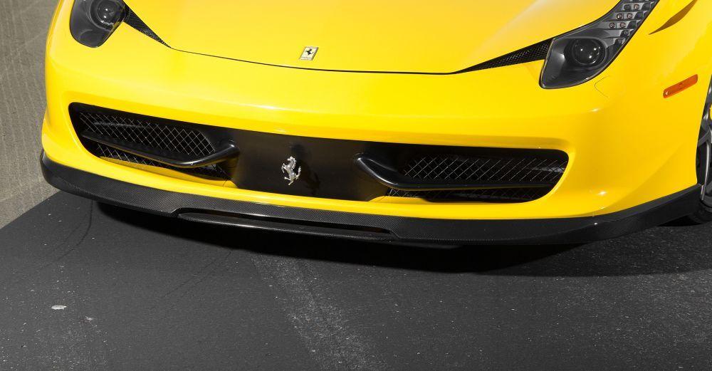 Vorsteiner Carbon Fiber Front Spoiler For Ferrari 458