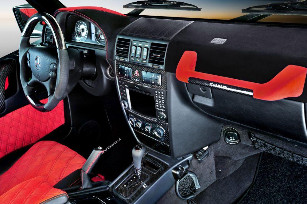 Hamann interior 24 piece carbon set mercedes benz g55 for Interior parts for mercedes benz