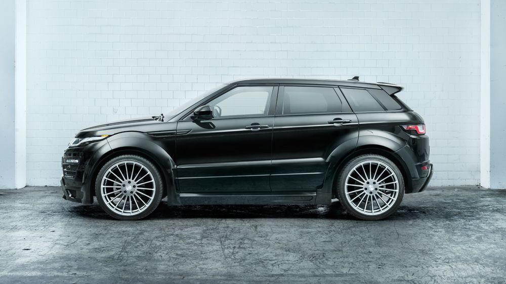 Hamann Wide Body Kit For Range Rover Evoque Scuderia Car