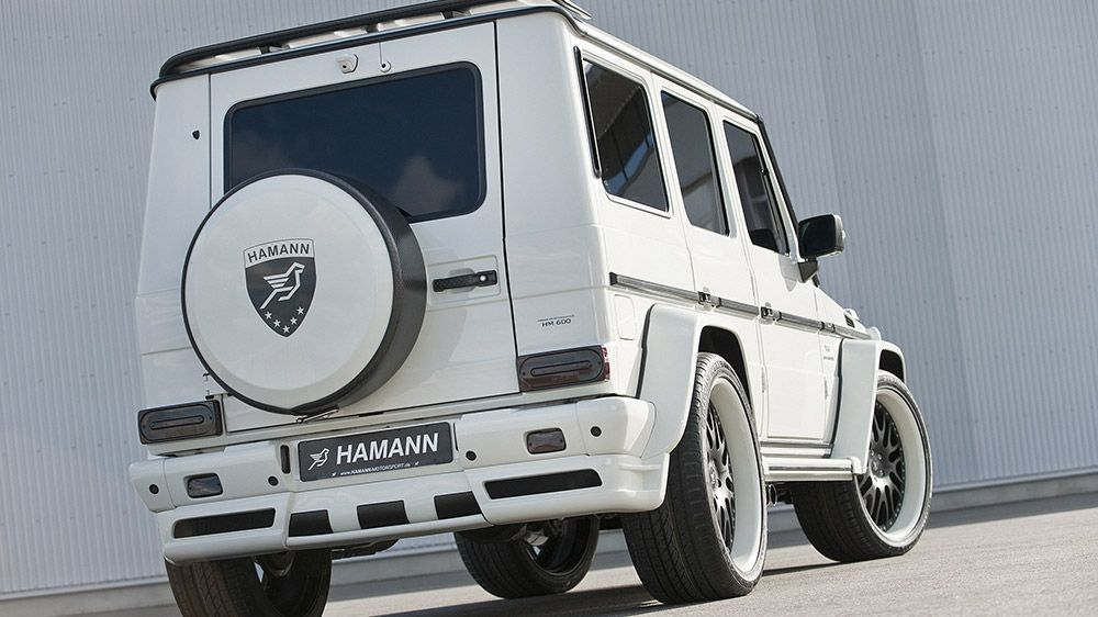 Hamann aero conversion kit mercedes benz g55 amg for Mercedes benz aftermarket accessories